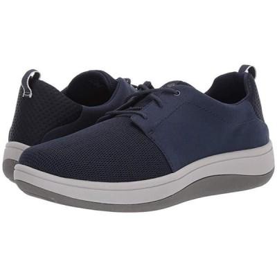 クラークス Arla Free メンズ スニーカー 靴 シューズ Navy Textile