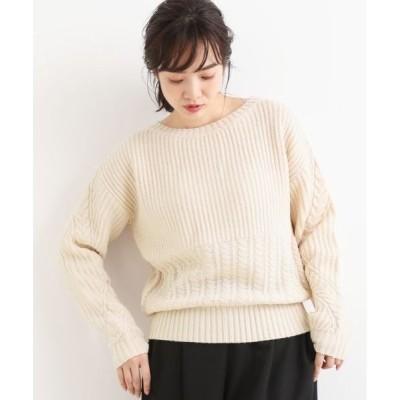 NIMES / ニーム ケーブル ボートネックP/O