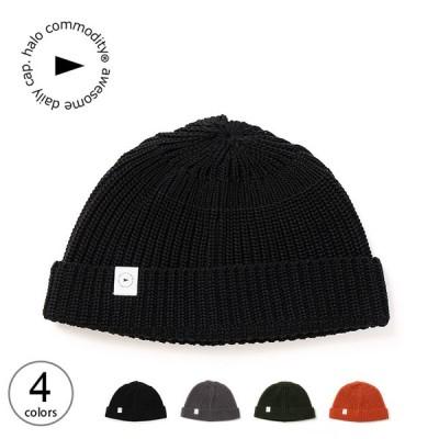 halo commodity ハロコモディティー コーデュラヒルウォッチ ニット帽 帽子 コーデュラ シンプル