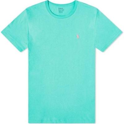 ラルフ ローレン Polo Ralph Lauren メンズ Tシャツ トップス Custom Tee Sunset Green