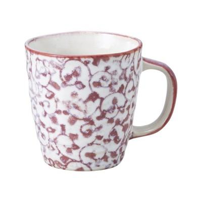 マグカップ マグカップ / ピンク唐草マグ 寸法:8.2×8.6cm 260cc