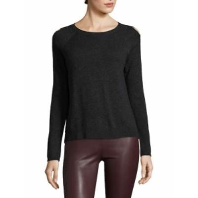 ホワイト + ウォーレン レディース トップス ニット  Wool-Blend Cutout Sweater
