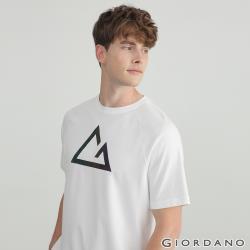 GIORDANO男裝G-motion快乾棉T恤(多色任選)