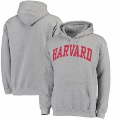 Fanatics Branded ファナティクス ブランド スポーツ用品  Harvard Crimson Gray Basic Arch Pullover Hoodie