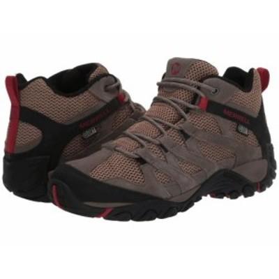 Merrell メレル メンズ 男性用 シューズ 靴 ブーツ ハイキング トレッキング Alverstone Mid Waterproof Boulder【送料無料】
