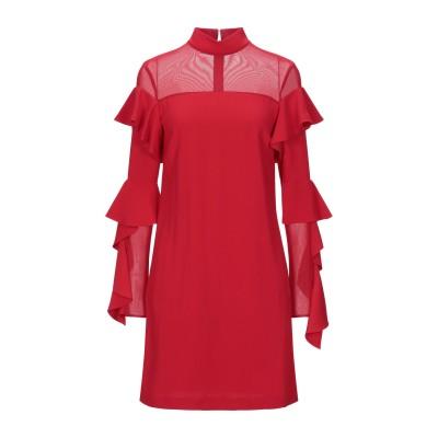 ピンコ PINKO ミニワンピース&ドレス レッド 40 100% ポリエステル ミニワンピース&ドレス