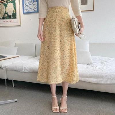 cherryville レディース スカート Fleur-de-lis flare long skirt