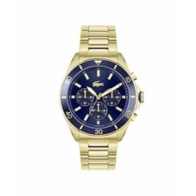 ラコステ  Lacoste Mens Quartz Watch with Stainless Steel Strap Gold Plated 22 Model 2011151 送料無料