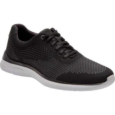 ロックポート スニーカー シューズ メンズ Total Motion Active Mesh Plain Toe Sneaker (Men's) Black 2 Leather/Synthetic