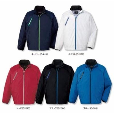 81220 ジャケット(フード付き)(自重堂) 社名刺繍無料 SS~5L ポリエステル100%
