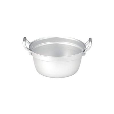 アルミ段付鍋 シルバー 15