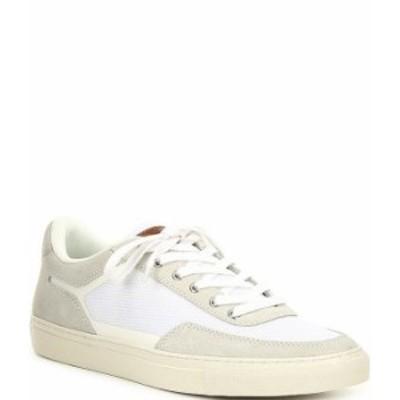 スティーブ マデン メンズ ドレスシューズ シューズ Men's Finlo Lace-Up Sneakers White
