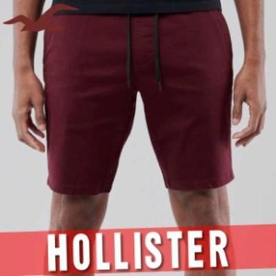 ホリスター アバクロ ハーフパンツ ショート 短パン メンズ ジョガー アドバンス ストレッチ 9インチ 半ズボン ボトムス 新作