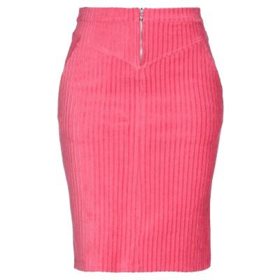 マジェスティック MAJESTIC FILATURES ひざ丈スカート フューシャ 1 コットン 62% / カシミヤ 15% / シルク 15%