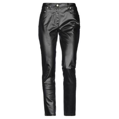 モスキーノ MOSCHINO パンツ ブラック 42 コットン 78% / ポリエステル 18% / ポリウレタン 4% パンツ