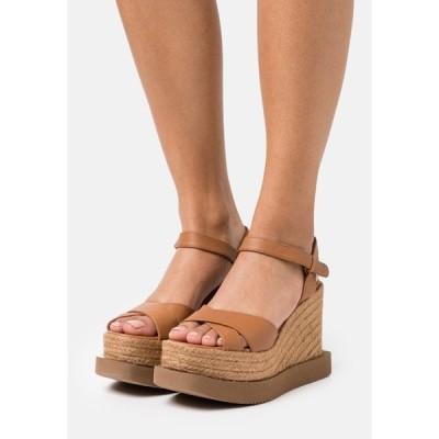 パロマ バルセロ サンダル レディース シューズ CAUCA - High heeled sandals - tan