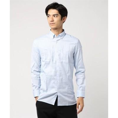 シャツ ブラウス マドラスチェックボタンダウンシャツ