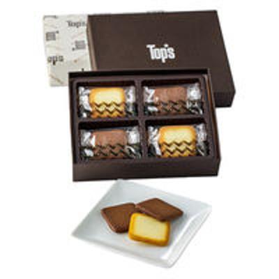トップス三越伊勢丹〈トップス〉HITOTSUGI ヤミー ダブルビー 1箱(12枚入)伊勢丹の紙袋付き 手土産ギフト 洋菓子
