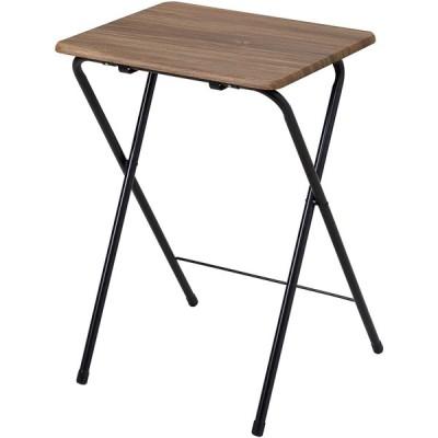 武田コーポレーション サイドテーブル 48×40×70 ヴィンテージ調 コンパクトテーブル ハイ ヴィンテージブラウンT8-VCTH70BR