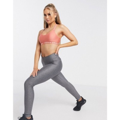 アンダーアーマー Under Armour レディース フィットネス・トレーニング スパッツ・レギンス ボトムス・パンツ Training Heatgear Leggings In Charcoal Grey