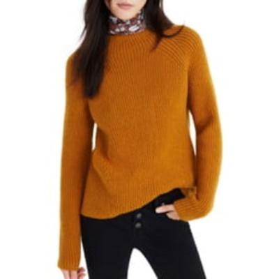 メイドウェル レディース ニット&セーター アウター Northfield Mock Neck Sweater GOLDEN HARVEST