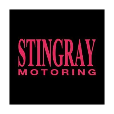 STINGRAY スティングレー モータリング ステッカー ショッキングピンク 濃桃 vv0024-18p