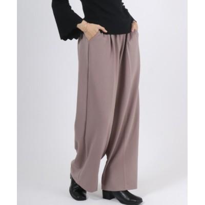 Salong hameu / とろみタックイージーパンツ/カラーパンツ WOMEN パンツ > スラックス