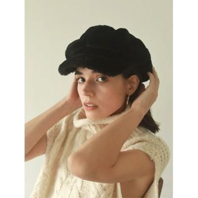ACYM / Fluffy キャスケット WOMEN 帽子 > キャップ