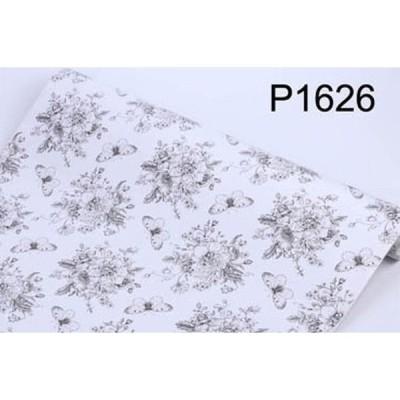 【10M】p1626 フラワー 花柄 パターン 壁紙 シール リフォーム 多用途 ウォールステッカー はがせる リメイクシート