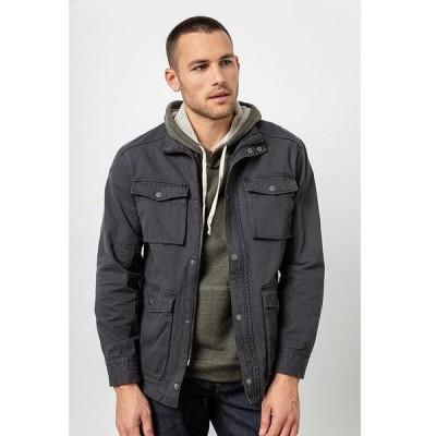 レイルズ メンズ ジャケット・ブルゾン アウター Porter Cotton Canvas Jacket