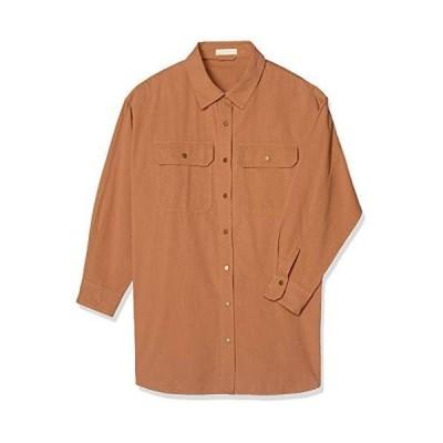 フリーズマート ブラウス オーバーサイズワークシャツ レディース ブラウン 日本 FR (FREE サイズ)