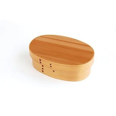 杉 わっぱ弁当 れでぃーす ナチュラルキッチン 弁当箱 杉 木製 曲げワッパ 行楽 ピクニック