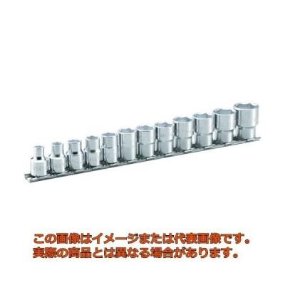 TONE ソケットセット(6角・ホルダー付) 吋目 12pcs HSB312