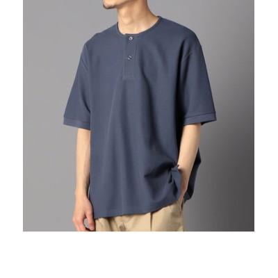 【Handvaerk/ハンドバーク】1505 pique henley s/s ヘンリーネック カットソー Tシャツ ピケ
