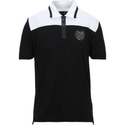 プレイン スポーツ PLEIN SPORT メンズ ポロシャツ トップス polo shirt Black