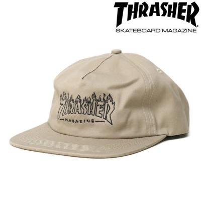 THRASHER CAP Witch Snapback ベージュ スラッシャー キャップ