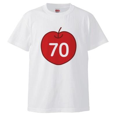 70cleam(Tシャツ)(カラー : ホワイト, サイズ : L)
