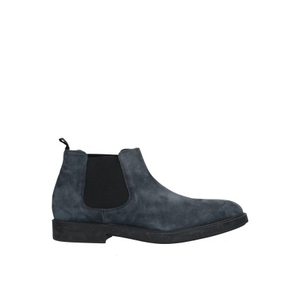 FLORSHEIM ショートブーツ ダークブルー 6 革 / 紡績繊維 ショートブーツ
