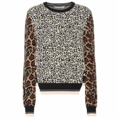 ステラ マッカートニー Stella McCartney レディース ニット・セーター トップス animal-jacquard sweater