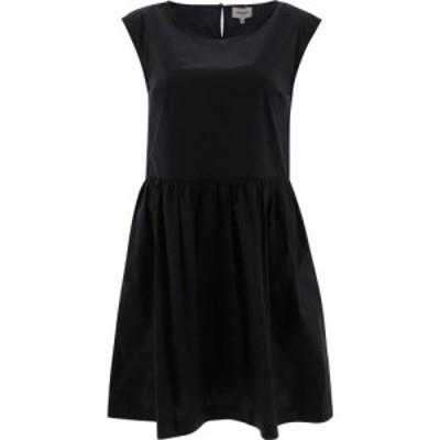 ウールリッチ Woolrich レディース ワンピース ノースリーブ ワンピース・ドレス Poplin Sleeveless Dress Black