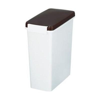 まとめ売り新輝合成 スリムペールパッキン付14型ブラウン 88592 1個 ×10セット 生活用品 インテリア 雑貨 日用雑貨 ゴミ箱 [▲][TP]