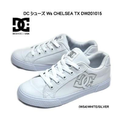 DCシューズ チェルシー TX DW201015 WS4 ウィメンズ スニーカー ホワイトシルバー