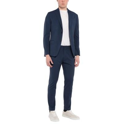 HAVANA & CO. スーツ ブルー 50 ポリエステル 71% / レーヨン 28% / ポリウレタン 1% スーツ