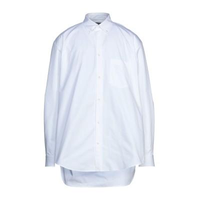 バレンシアガ BALENCIAGA シャツ ホワイト 40 コットン 100% シャツ