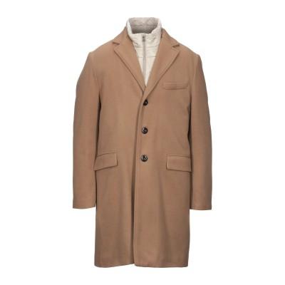 SEVENTY SERGIO TEGON コート キャメル 54 バージンウール 75% / ナイロン 20% / カシミヤ 5% コート