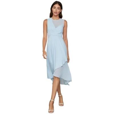 ビーシービージーマックスアズリア レディース ドレス  Drape Front Dress