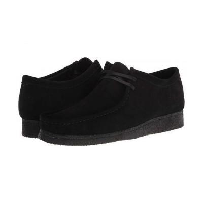 Clarks クラークス メンズ 男性用 シューズ 靴 オックスフォード 紳士靴 通勤靴 Wallabee - Black Suede