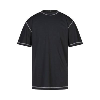 DARK LABEL T シャツ ブラック S コットン 100% T シャツ