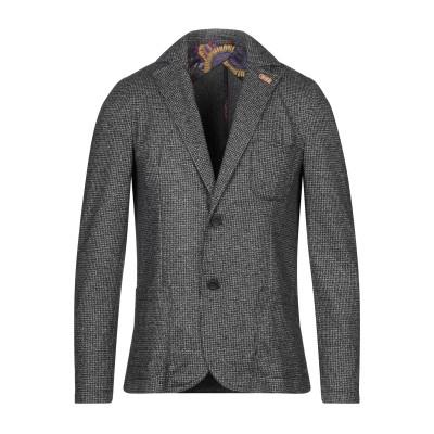 KOON テーラードジャケット ブラック 48 ポリエステル 53% / レーヨン 45% / ポリウレタン 2% テーラードジャケット