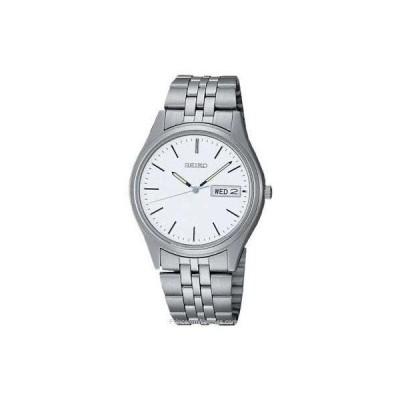 セイコー 腕時計 Seiko SGGA51 メンズ Stainless Steel White ホワイト Dial クォーツ Watch